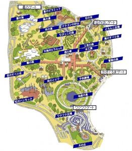 案内図|昭和記念公園こどもの森