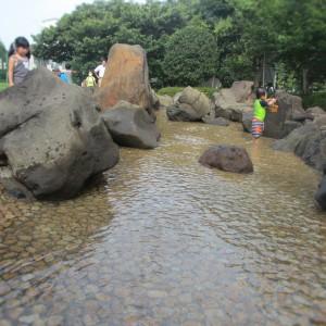 北第一公園じゃぶじゃぶ池3
