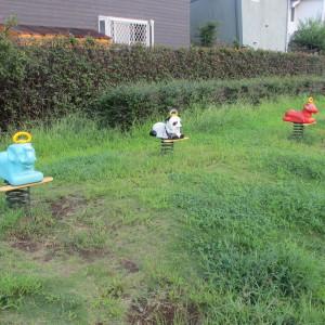 若葉公園スプリング遊具