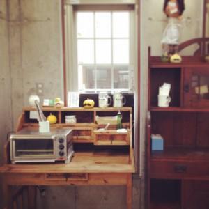 Kibun屋店内、トースター