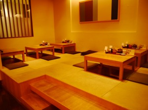 座敷| 名代とんかつ かつくら 京都三条