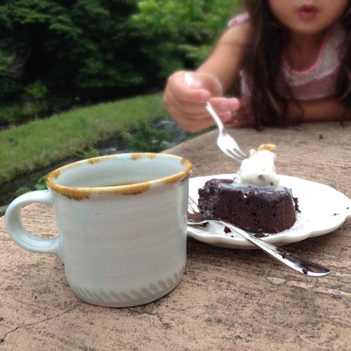 ヤナギコーヒー ガトーショコラ
