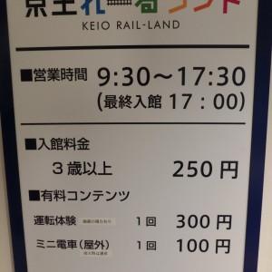 入場料 3歳以上一律250円