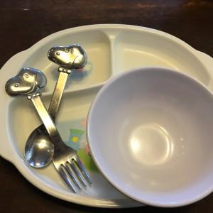 子ども用小皿も完備