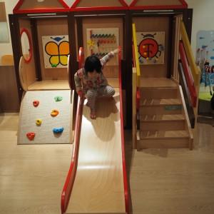 小さい子も階段やクライミングでアクティブに遊べそう