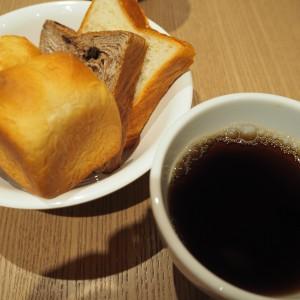ドリンクバーのコーヒーはデカフェも♪