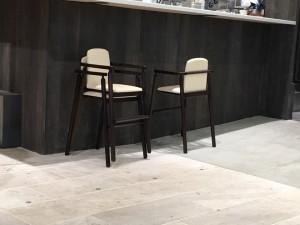 子ども用の椅子。