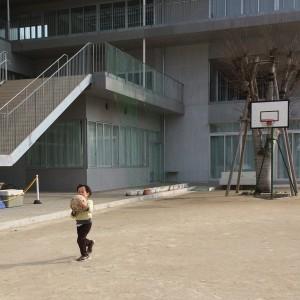 保育園のボールより大きい!