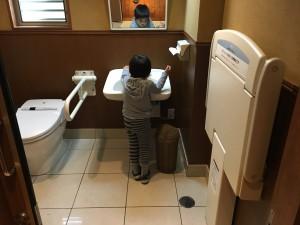 多目的トイレ 広々