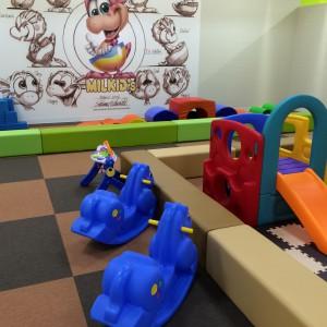 小さい子にも遊びやすい遊具たち