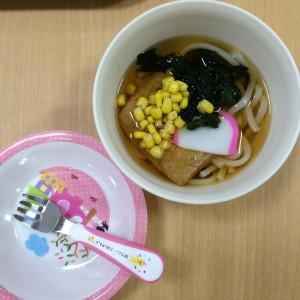 お子さまうどん(290円)