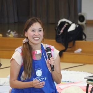 お笑い大好き大阪出身の笑顔のステキなさきほ先生