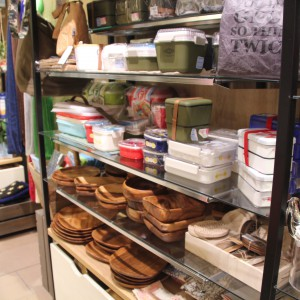 木の食器やお弁当箱