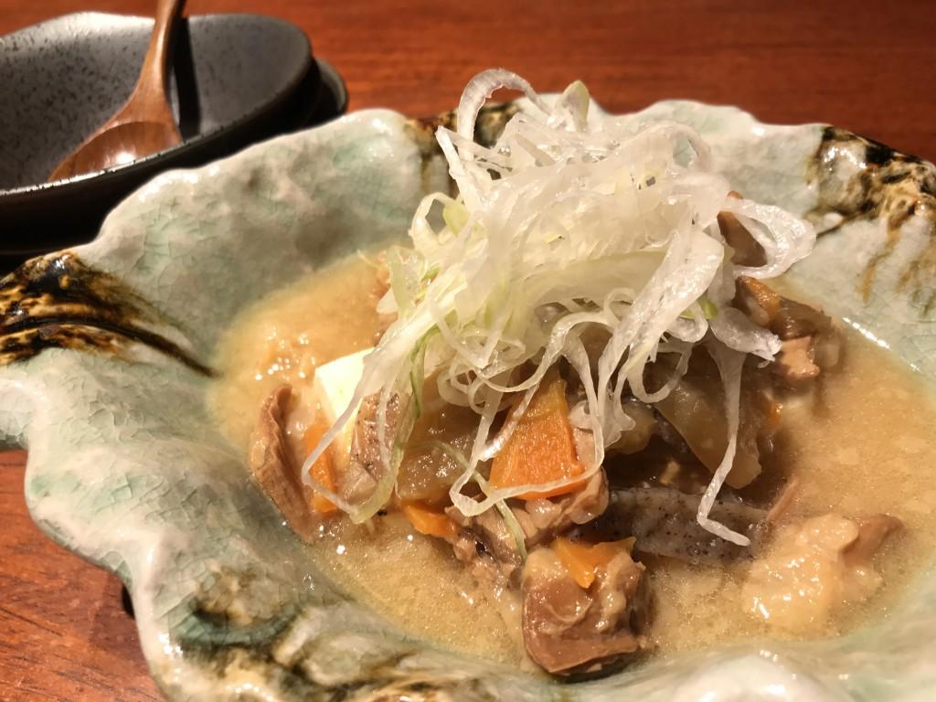 牛もつ西京味噌煮