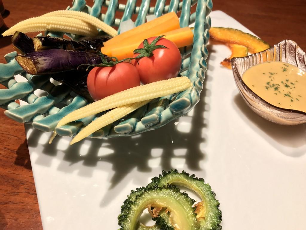 旬温野菜のバーニャカウダ