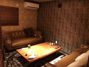 寛げる個室空間
