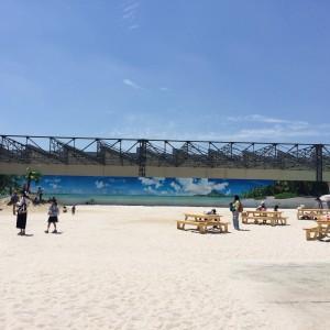 ひろーいビーチ!