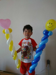 Shino Baloonのバルーンアート