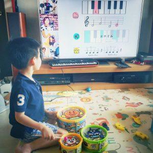 親子ジャズセッション,子どもジャズセッション.オンライン